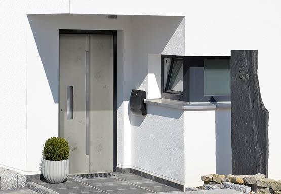 exklusive-haustür Art-Beton