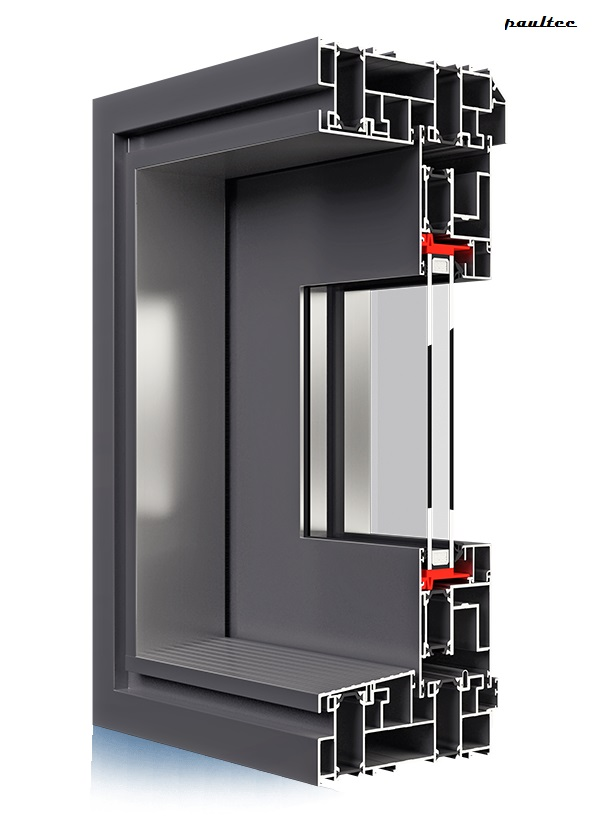 ALU Fenster Ultraglide - Aliplast Aluminium