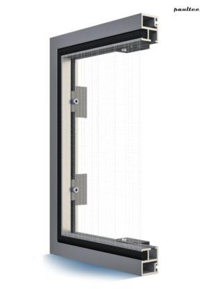 Fenster Moskitonetze mit Rahmen – Feste Fliegengitter Insektenschutz