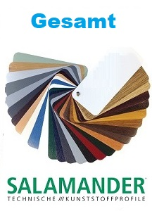 Salamander-farbdekoren gesamt