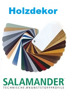 Salamander-farbdekoren holzdekor