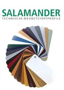 Salamander Fenster-Farben & Dekore