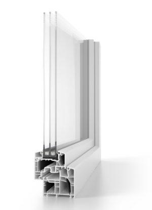 aluplast-Kunststofffenster energeto-8000-classic-line-3-fachverglasung