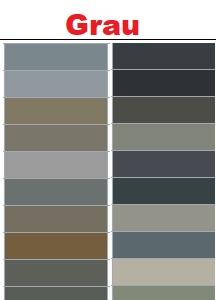 Graue RAL Farben
