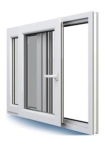 Kunststoff PSK - Parallel-Schiebe-Kipp-Tür