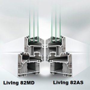 schüco living 82MD 82 AS
