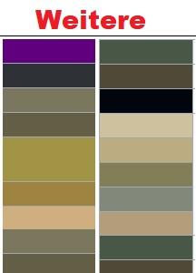 Weitere RAL-Farben