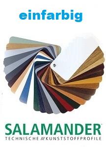 Salamander-farbdekoren einfarbig