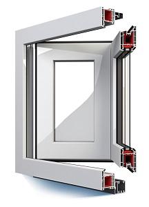 Kunststoff Faltsystem 216x300