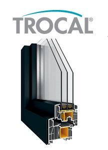 TROCAL AluClip – Fenster mit ALU-Deckschalen
