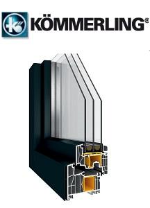 KÖMMERLING AluClip – Fenster mit Aluminium-Schalen