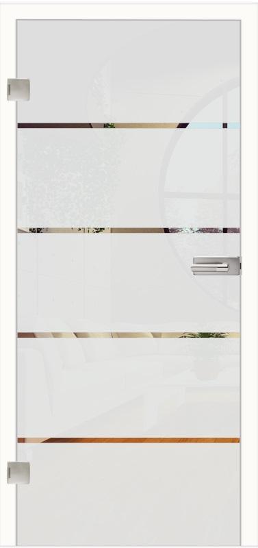 Ganzglastüren Paris 377x800 front