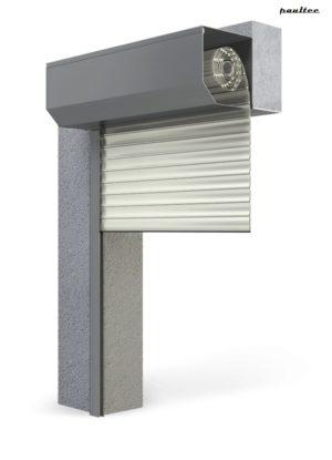 Garagentore Rolltore Cremeweiss - Antrieb Fernbedienung Zubehör