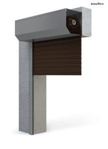 Garagentore Rolltore Dunkelbraun - Antrieb Fernbedienung Zubehör