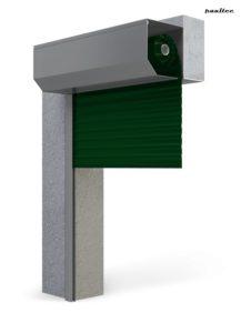 Garagentore Rolltore Grün - Antrieb Fernbedienung Zubehör