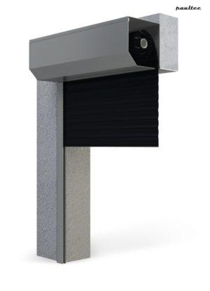 Garagentore Rolltore Schwarz - Antrieb Fernbedienung Zubehör