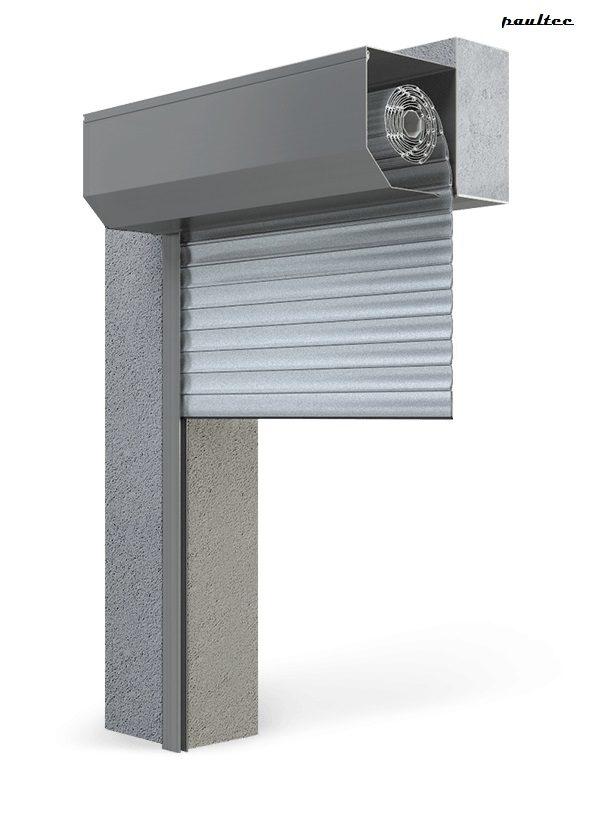 Garagentore Rolltore Silber