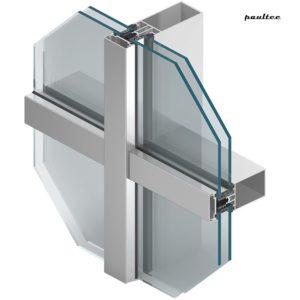 MB-SR50N HI+ Alu-Fassadensysteme