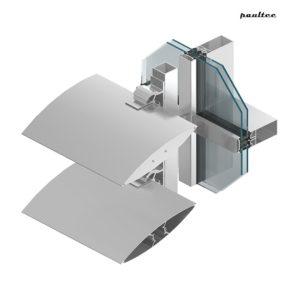 MB-SUNPROF Facade louvre system