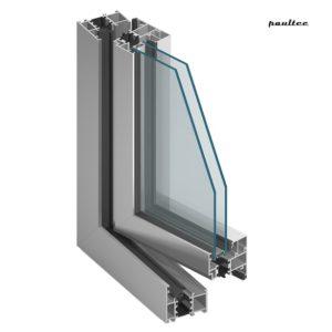 MB-60 Fenster - und Türsystem mit Wärmedämmung