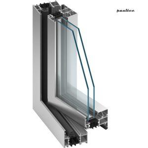 MB-70 Fenster und Türsystem mit Wärmedämmung