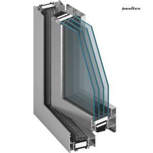 MB-86 Fenster und Türsystem mit Wärmedämmung