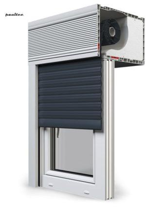20 Anthrazitgrau Fenster Rollladen CleverBox Beclever
