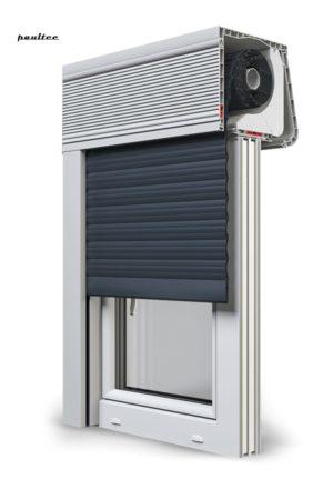 20 Anthrazitgrau Fenster Rollladen CleverBox Soft Beclever