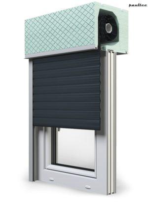 20 Anthrazitgrau Fenster Rollladen ROKA TOP 2RG Unterputzrollladen Beck-Heun