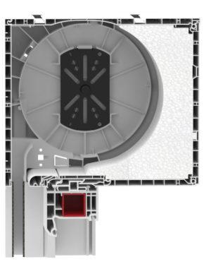 expert-xt-220-255 Aufsatzrollladen-kasten